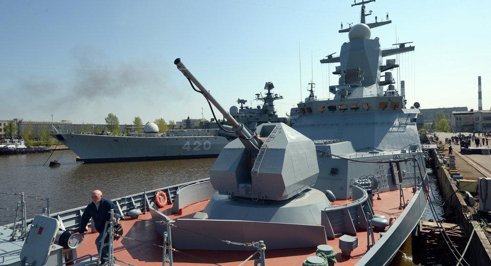 Corvette Boiky of Russia's Baltic Fleet