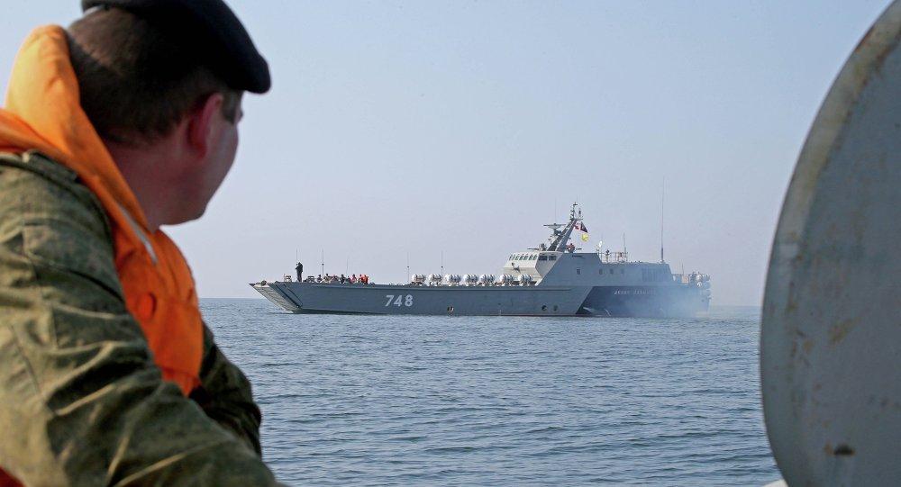 The Denis Davydov new generation landing craft enters service at Baltic Fleet