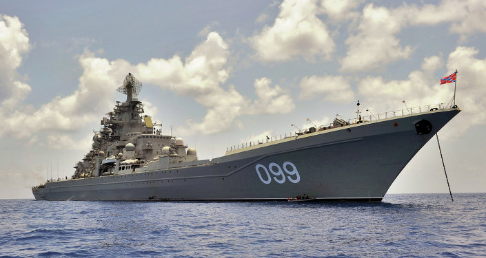 Pyotr Veliky heavy nuclear-powered cruiser