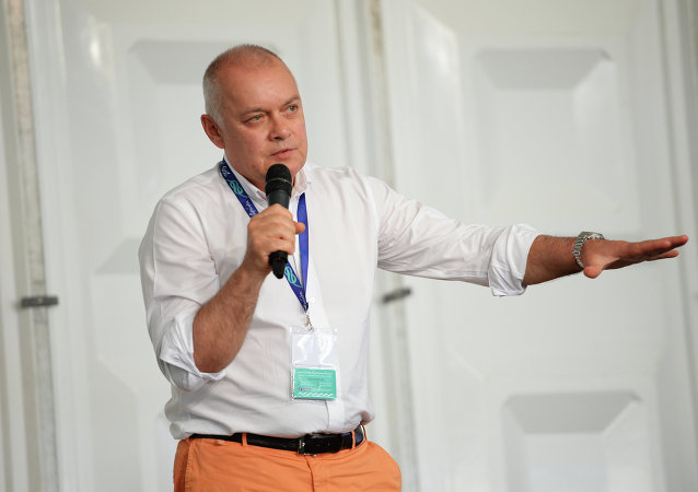 Rossiya Segodnya International Information Agency Director General Dmitry Kiselev