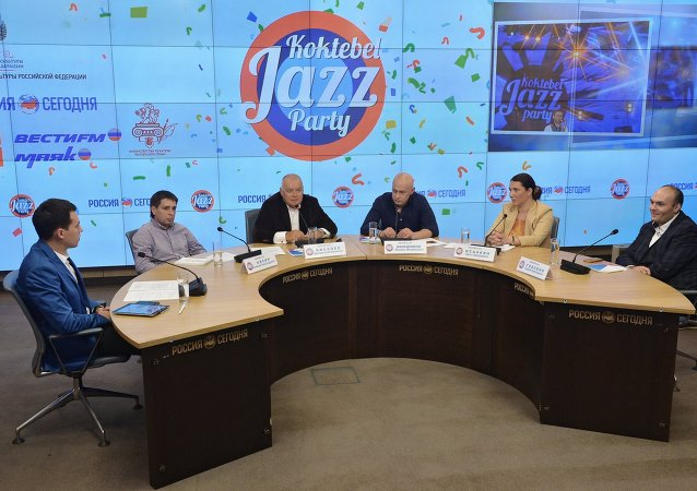 Koktebel Jazz Party 2015 press conference
