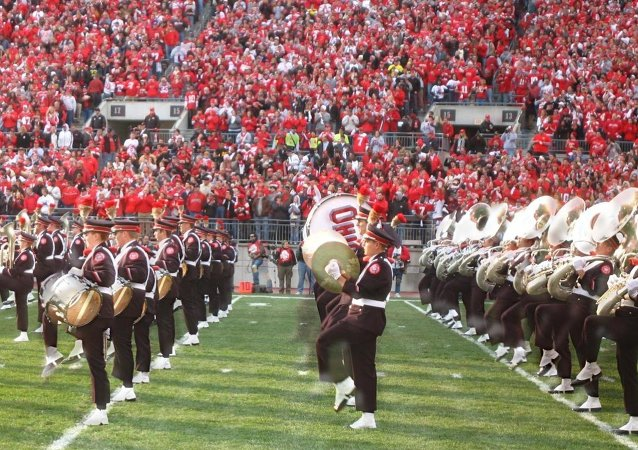 "A recently uncovered ""secret"" parody songbook compiled by the marching band of Ohio State University details the disturbing sense of humor of one of America's most storied ensemble."