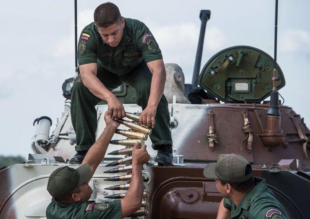 Venezuelan soldiers.