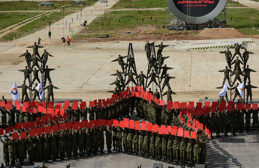 Competition of Might: International Army Games 2015 in Russia