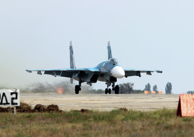 Sukhoi Su-33 multirole air-superiority fighter
