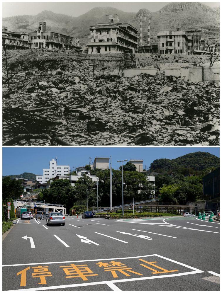 Shades of War: Hiroshima and Nagasaki Then and Now