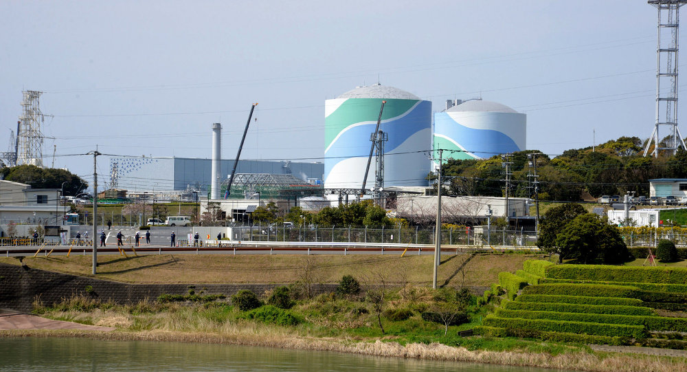 Kyushu Electric Power's Sendai nuclear power plant in Satsumasendai, Kagoshima prefecture, on Japan's southern island of Kyushu