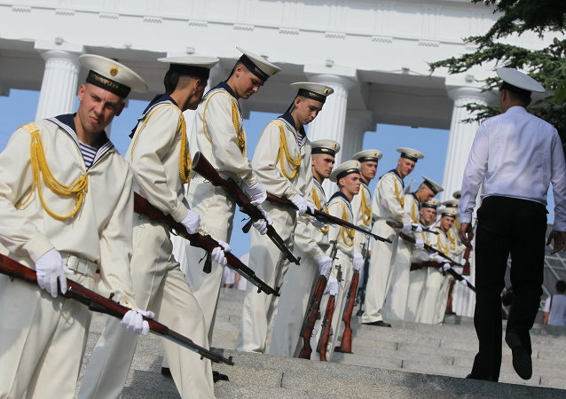 Russian Navy Day celebration in Sevastopol