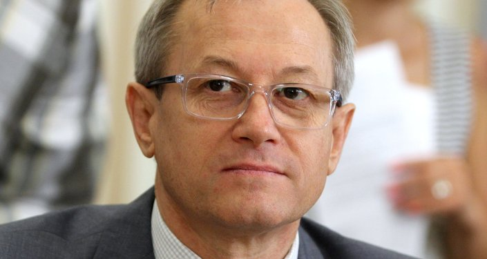 Crimean Minister of Fuel and Energy Sergei Yegorov