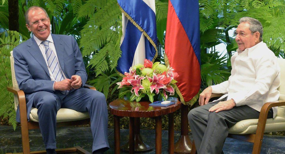 Russian Foreign Minister Sergei Lavrov visits Cuba