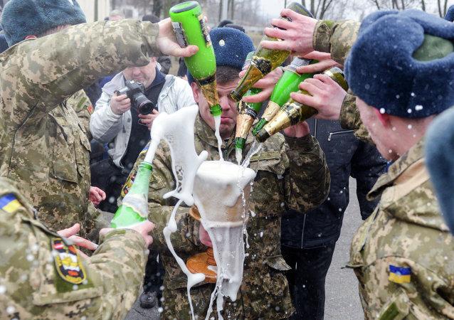 Drunken Ukrainian Troops Shoot Donbass Beachgoers... Just for Fun