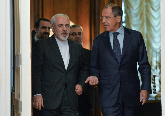 Russian and Iranian Foreign Ministers S.Lavrov and M.Zarif meet in Moscow
