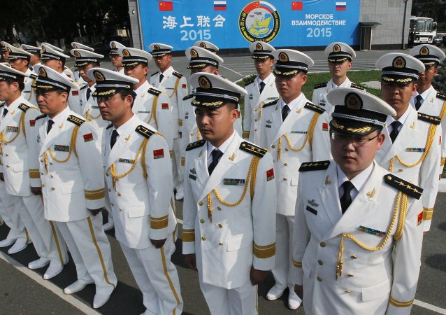 File Photo, Chinese Navy Officers