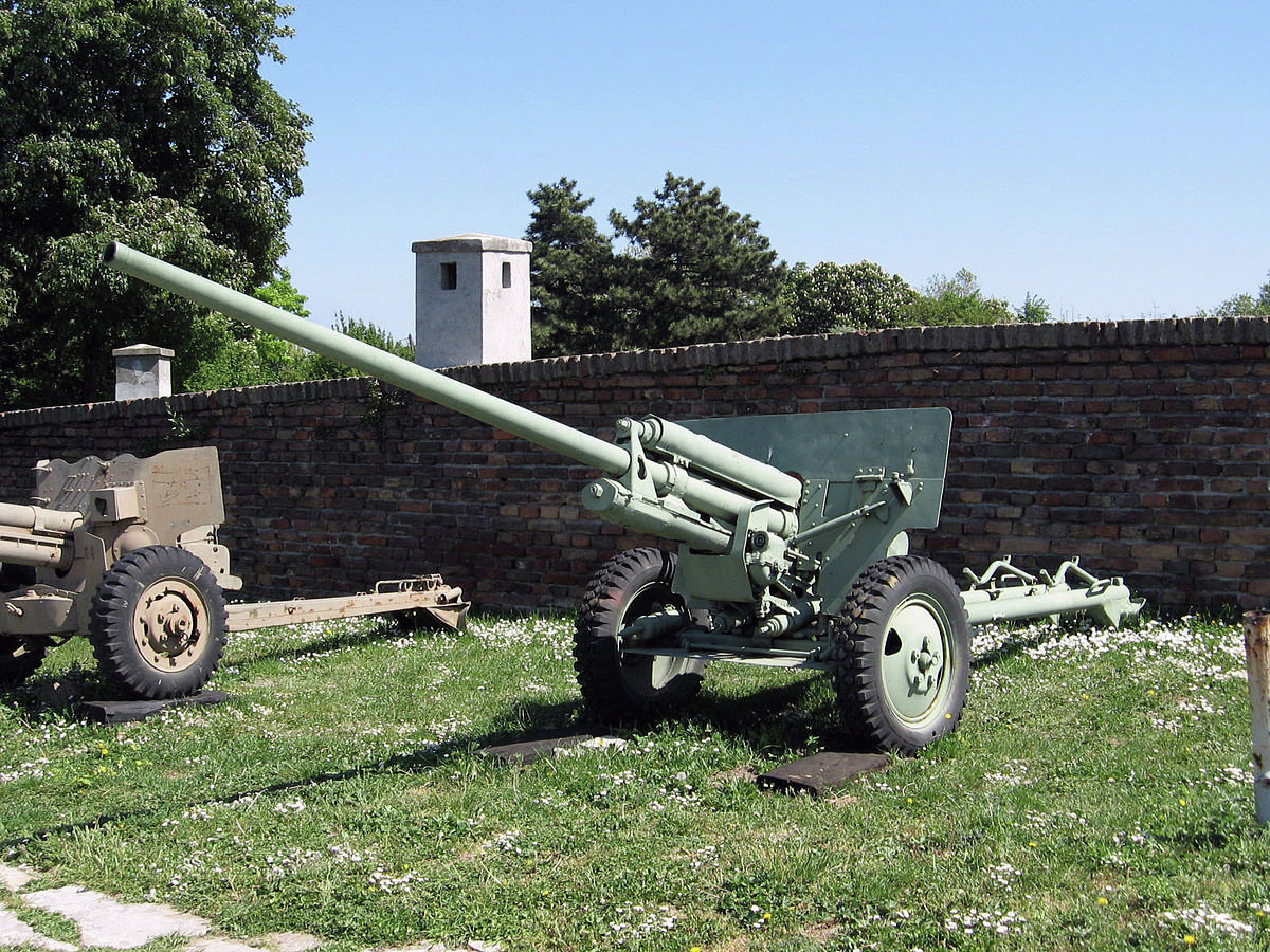 The 57-mm anti-tank gun model 1941 (ZiS-2) developed and adopted in the opening days of the Great World War.