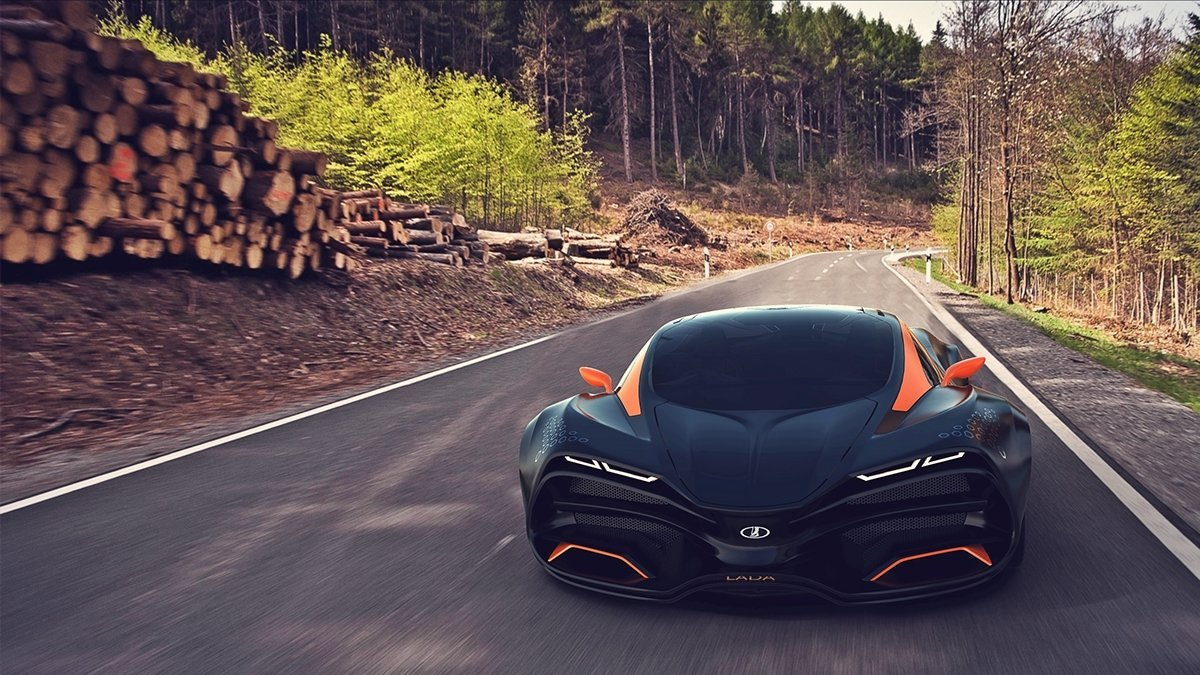 Laraki Epitome Concept Features A Remarkable Design likewise  besides D Db D A E Fa Aa A in addition Lada Raven Supercar Concept in addition Im C A Genes Para Fondo De Pantalla Rojo De Ferrari. on lada raven concept car
