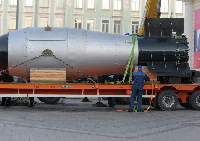 Tsar bomba arrives in Moscow