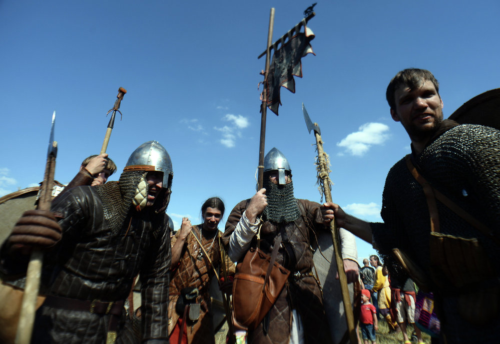'Warrior's Field': Ancient Russia Recreated Before Your Eyes