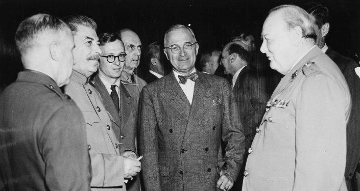 Potsdamer Konferenz,Stalin,Truman,Churchill