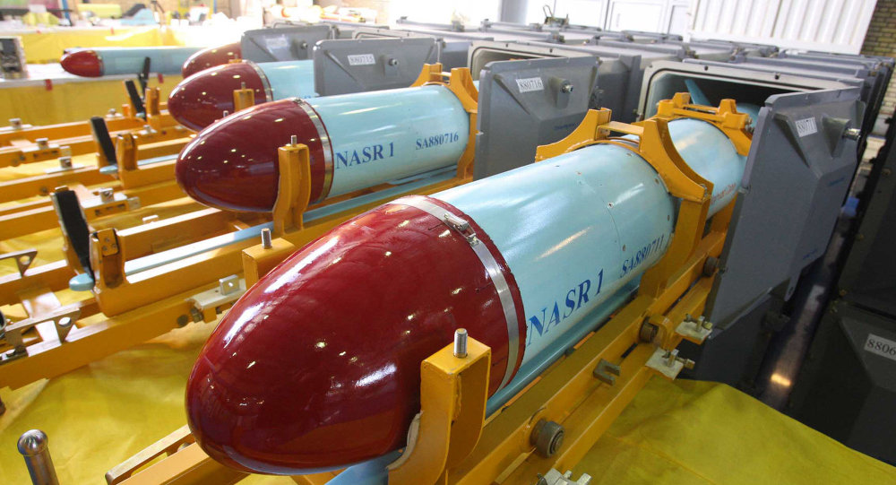 Nasr 1 (Victory) missiles