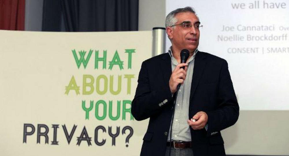 Joseph Cannataci, UN special rapporteur on privacy