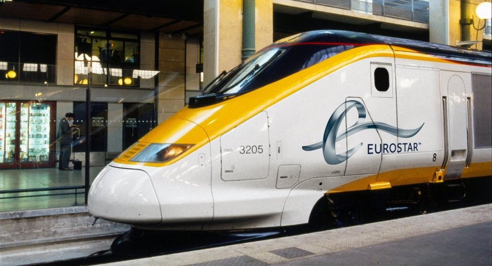 Eurostar Train at Paris Gare Du Nord Station (File)