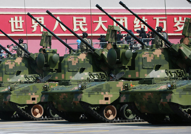 Military parade in Beijing to mark the end of WWII