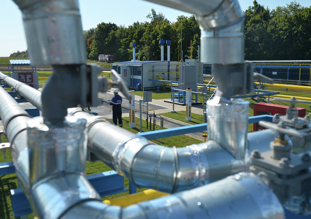 An automatic gas-distribution station of the first stage of an investment project to build a gas pipeline offshoot from the Kazan-Gorky gas pipeline toward the village of Yelizavetino. It will heat up the Innopolis IT town
