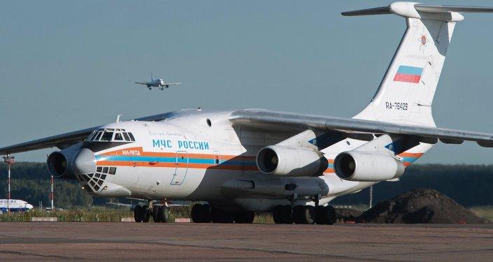 Emergencies Ministry aircraft