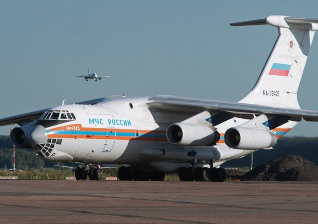 Emergencies Ministry aircraft