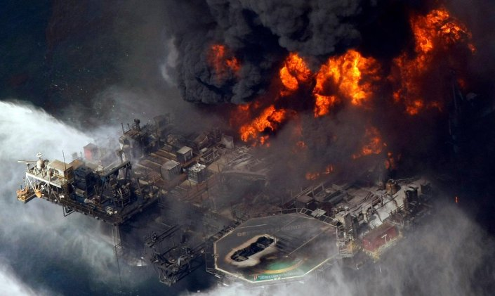 The 2010 disaster at BP's Deepwater Horizon oil rig caused devastating pollution in the Gulf of Mexico