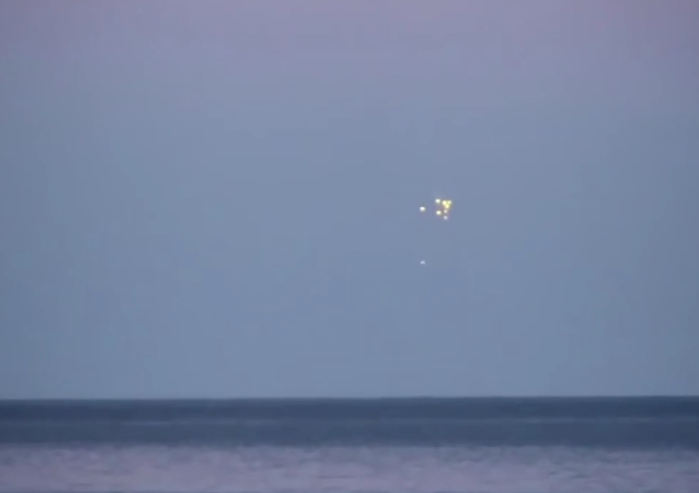 UFOs Enter The Baltic Sea Caught On Video! September 2014