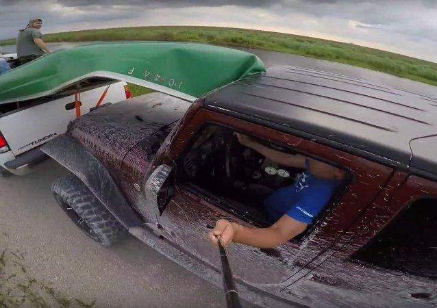Jeep Wrangler GoPro fail