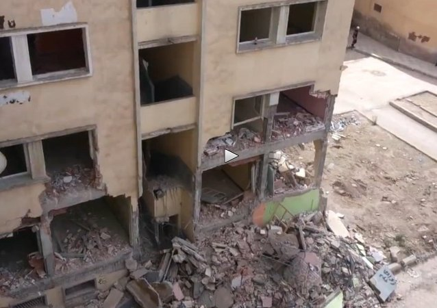 Watch Out! Rundown Building Suddenly Collapses