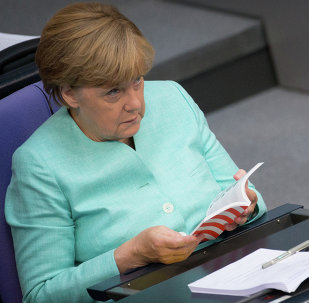 German Chancellor Angela Merkel for the first time publically accepted the fact that Crimea doesn't belong to Ukraine and that the peninsula will stay as part of Russia, Alexei Pushkov, head of the Foreign Affairs Committee of the Russian Duma, said on his Twitter account, according to Gazeta.ru.