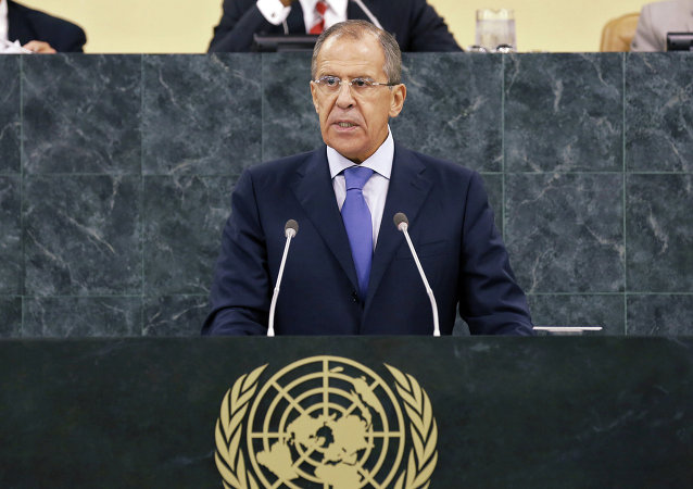 Sergey Lavrov addresses UN General Assembly