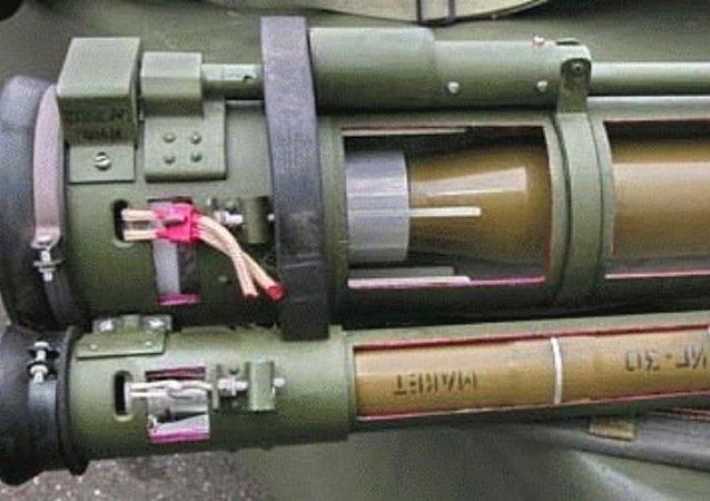 RPG-30 is a man-portable, disposable anti-tank rocket launcher