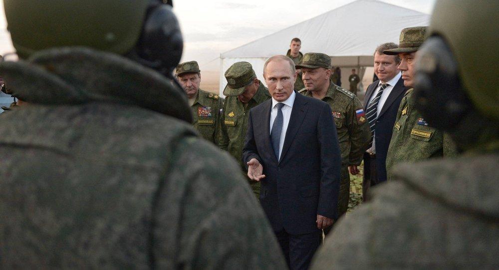 Рабочая поездка президента РФ В.Путина в Оренбургскую область