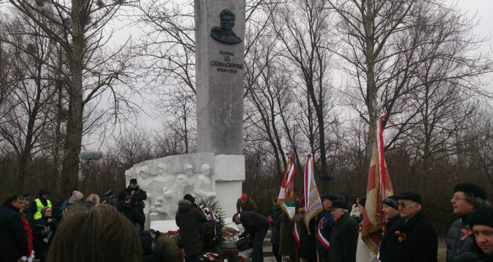 Chernyakhovsky monument in Poland. File photo