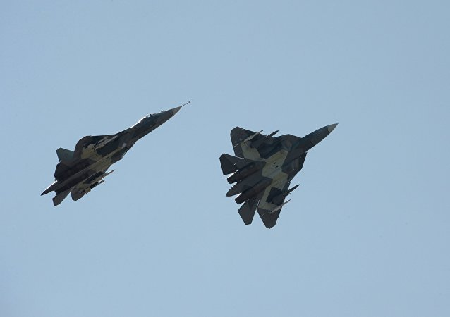 Russian fifth generation T-50 fighter jets