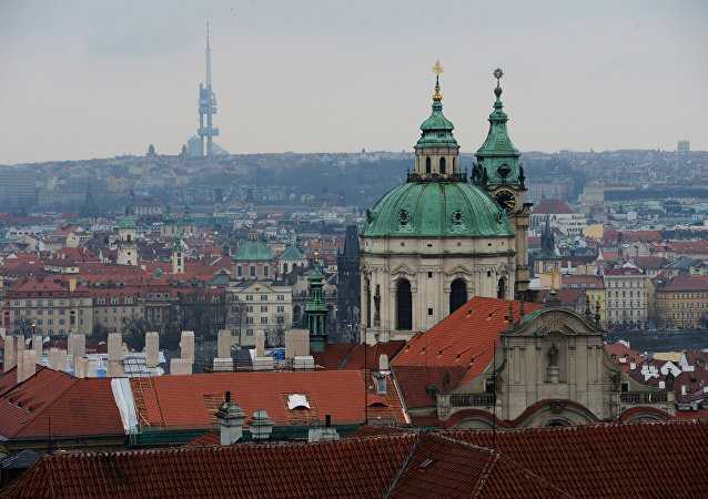 St. Nicholas Church in Mala Strana in Prague.