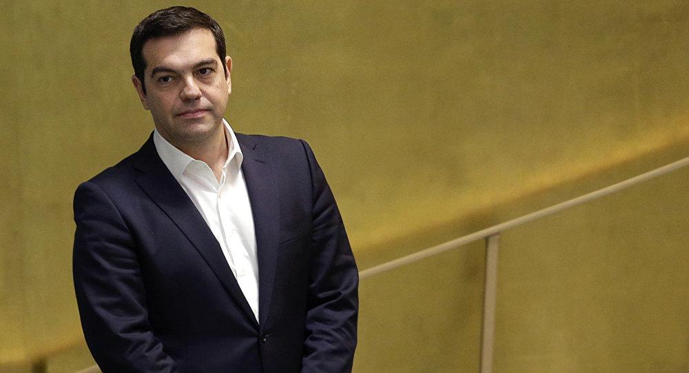 Greece's Prime Minister Alexis Tsipras.