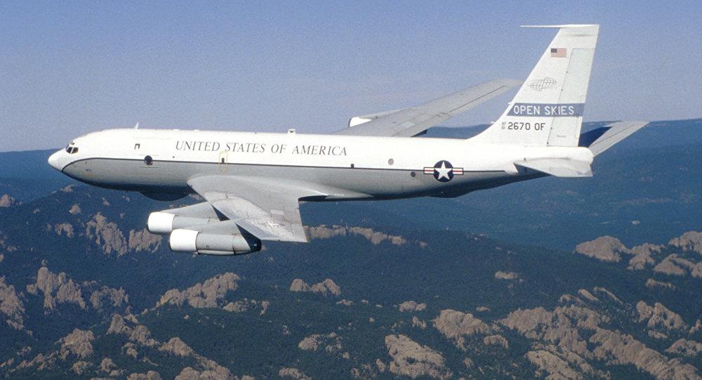 Боинг OC-135B Открытое небо