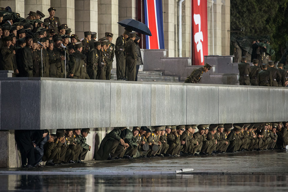 Sneak Peek at Military Parade of the Most Closed-Off Country in the World