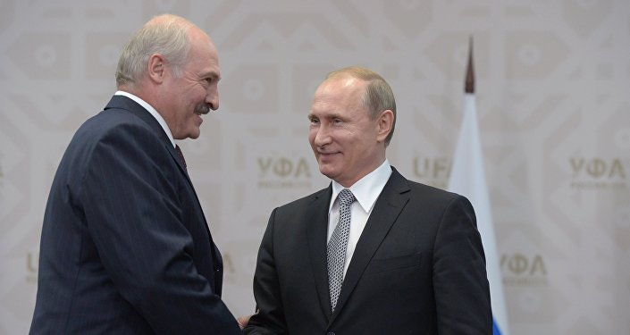 President of the Russian Federation Vladimir Putin meets with President of the Republic of Belarus Alexander Lukashenko (File photo)
