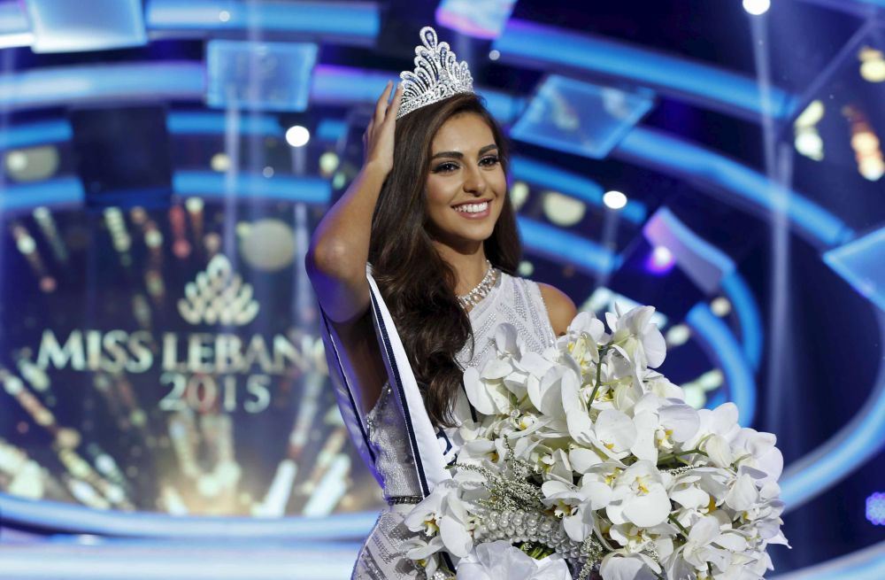 The beauty of the middle east miss lebanon 2015