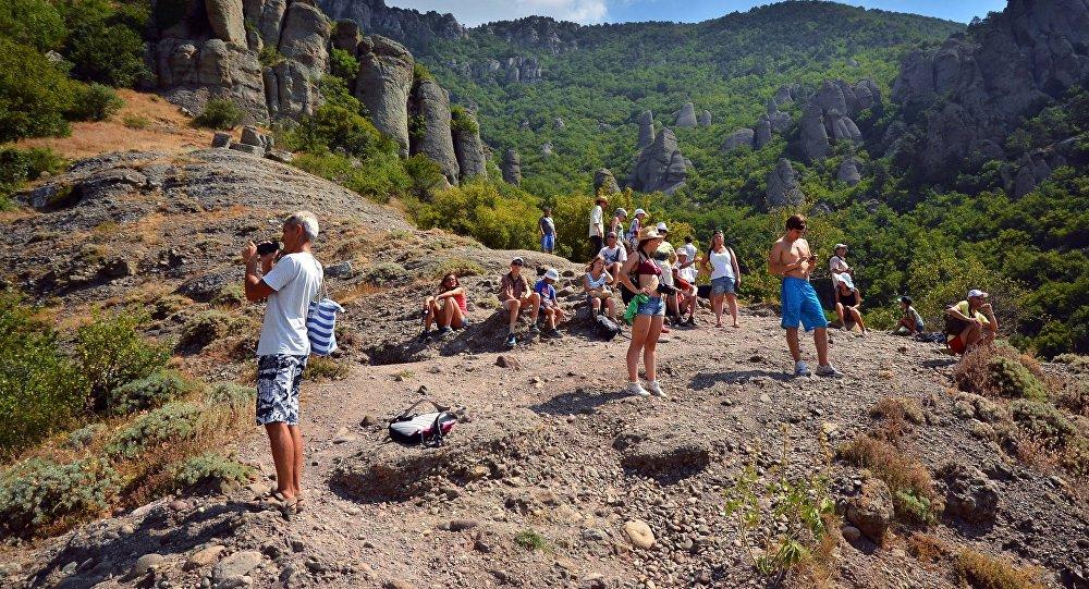 Crimea's Alushta region