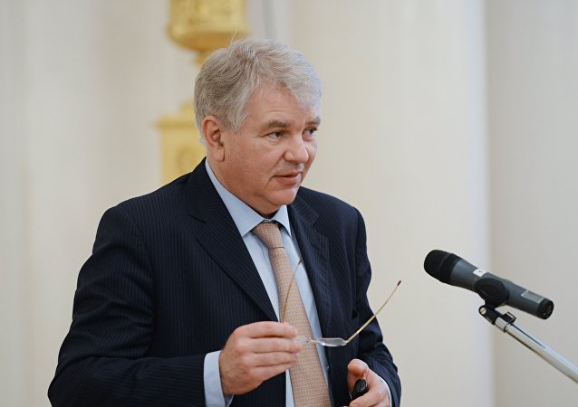 Russian Deputy Foreign Minister Aleksey Meshkov