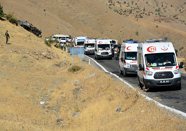 Turkish ambulances