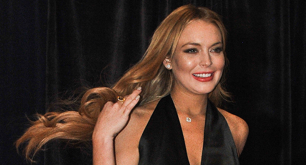 US actress Lindsay Lohan. (File)