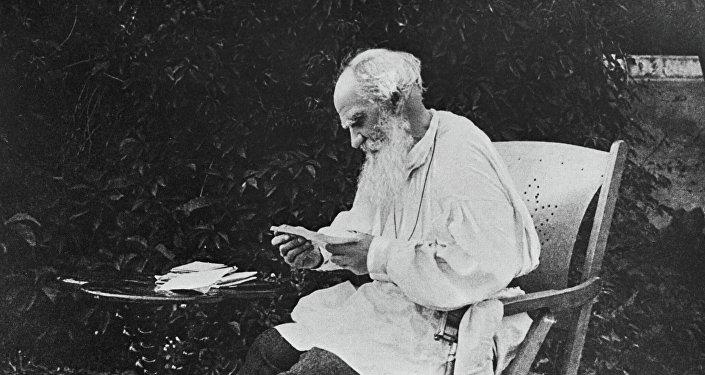 Writer Leo Tolstoy